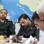 برنامه هفته دفاع مقدس سپاه ناحیه  بندرلنگه تشریح شد