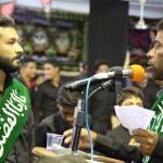 تصاویر / مراسم استقبال از پرچم گنبد حرم امام حسین (ع)