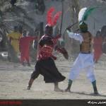 گزارش تصویری// تعزیه خوانی واقعه عاشورا ـ بندرلنگه