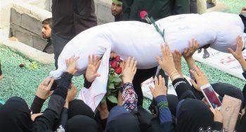 ۳ سرباز گمنام خمینی(ره) در شهر دریانوردان خلیج فارس آرام گرفتند