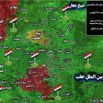 فقط ۷ کیلومترمربع از شرق حلب در اشغال تروریستهاست