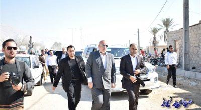 سفر وزیر نیرو به غرب شهرستان بندرلنگه به روایت تصویر