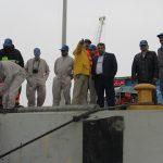 مانور مقابله با آلودگیهای نفتی در بندرلنگه