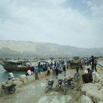 طغیان دریا در بندرمقام + تصاویر و فیلم