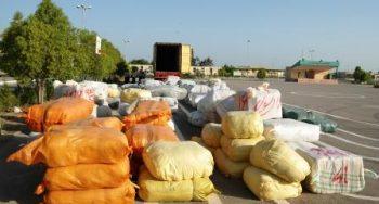 کشف ۱۴ میلیاردی انواع کالای قاچاق در بندرلنگه