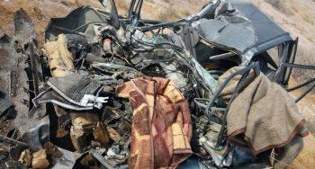 دو حادثه مرگبار در شرق و غرب بندرلنگه جان ۵ نفر را گرفت + تصاویر