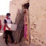 توزیع ۱۰۰ بسته معیشتی بین نیازمندان بندرلنگه