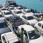 انتقال خودروی گردشگران به جزایر کیش و قشم ممنوع است