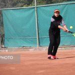 فینال مسابقات تنیس بانوان کشور در کیش