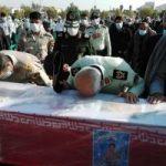 پیکر شهید مرزبان هرمزگانی در بندرعباس تشییع شد